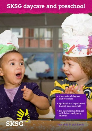 SKSG daycare and preschool
