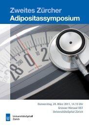 Zweites Zürcher Adipositassymposium - Fortbildung ...