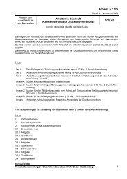 RAB 25 - Gewerbeaufsicht - Baden-Württemberg