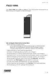 FT633 VMM: - Funktronic