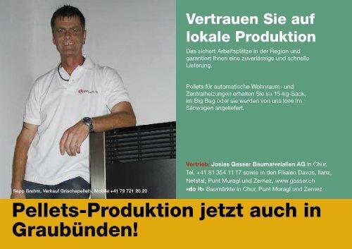 erden. - Gasser Baumaterialien AG