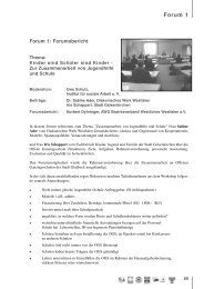 Forum 1 - Freie Wohlfahrtspflege NRW
