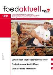 Erfolgreiche erste Nutri 11-Messe La viande suisse ... - Foodaktuell.ch