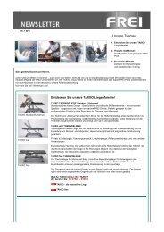 Newsletter Juli 2011 - FREI AG