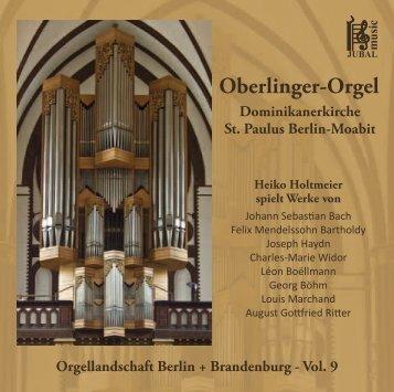 Oberlinger-Orgel - M. Jung