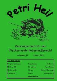 Vereinszeitschrift der Fischerrunde Kobernaußerwald