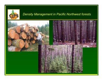 How Do We Make the Tough Density Management Decisions?