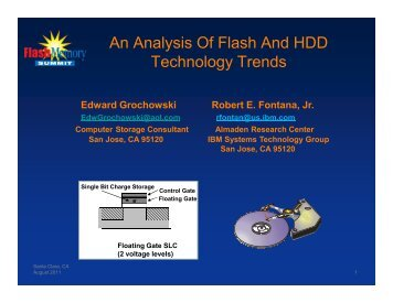 An Analysis Of Flash And HDD Technology Trends - Flash Memory ...