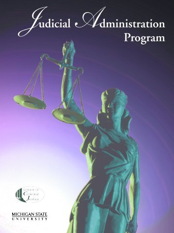 Judicial Administration Program Brochure