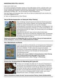 Neues Wanderwegesystem im Naturpark Hoher Fläming Neue ...