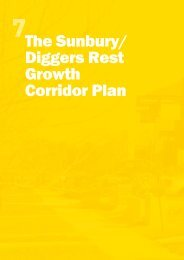 The Sunbury/ Diggers Rest Growth Corridor Plan - Growth Areas ...