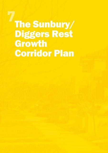 The Sunbury/ Diggers Rest Growth Corridor Plan - Growth Areas ...