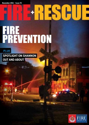 Fire and Rescue Issue 74 - New Zealand Fire Service