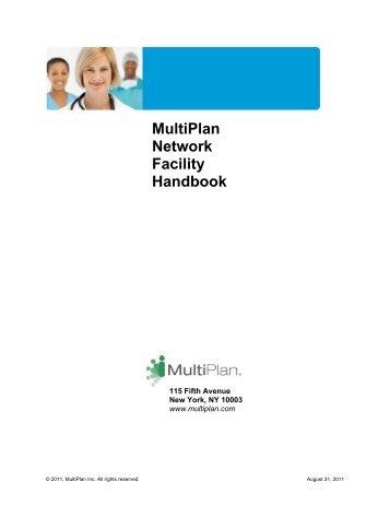MultiPlan Network Facility Handbook