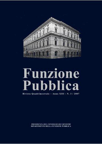 Rivista n.3 stampabile - Dipartimento Funzione Pubblica