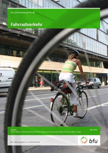 Fahrradverkehr - Fonds für Verkehrssicherheit FVS