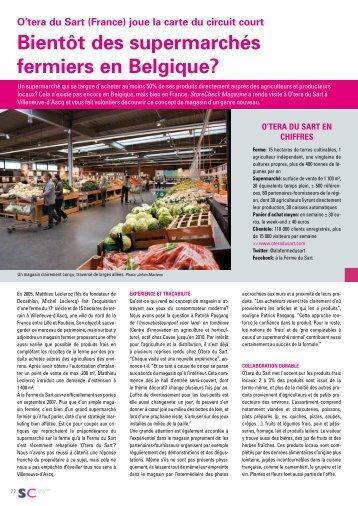 Lisez mon reportage consacré à O'tera du Sart au format pdf