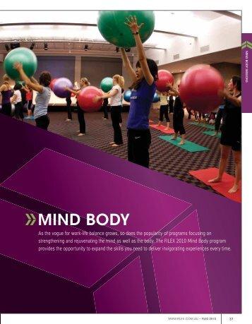 MIND BODY - Australian Fitness Network