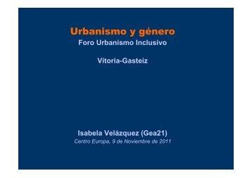 El marco para un nuevo urbanismo - Garraioak