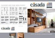 Casada Wohnen Calvo-Broschüre als PDF ... - Flamme Möbel