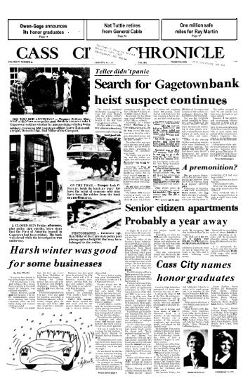 Search for Gagetown bank - To Parent Directory
