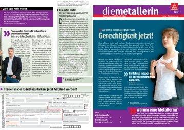 die metallerin Ausgabe 2