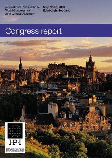Congress report - International Press Institute