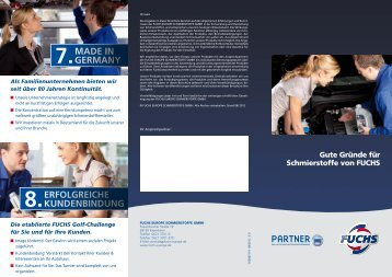 7. made in germany 8. erfolgreiche kundenbindung - fuchs europe ...