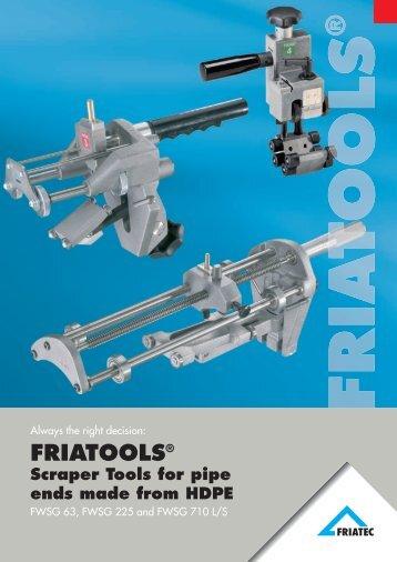 Scraper Tools FWSG - Friatec