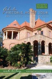 2013 Homes Tour Catalogue - Galveston Historical Foundation