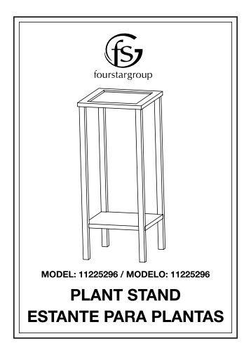Assemb l y instructions - Estantes para plantas ...