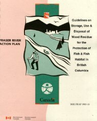 Guidelines on Storage, Use and Disposal of Wood Residue for the ...