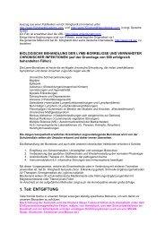 Biologische Behandlung der Lyme-Borreliose und verwandter ...