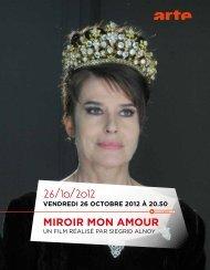 26/10/2012 miroir mon amour - Arte