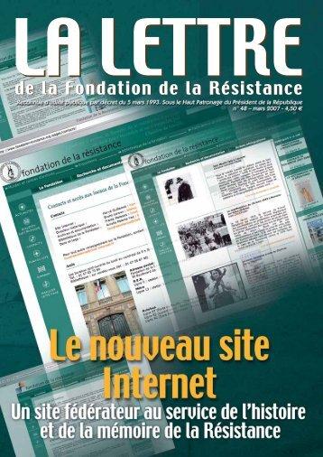Télécharger au format PDF (832.6 Ko) - Fondation de la Résistance