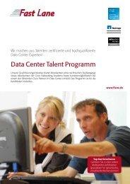 Data Center Talent Programm - Fast Lane