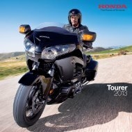 Tourer Bikes (PDF, 8.5 MB) - Honda