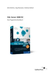 SQL Server 2008 R2 (PDF) - Galileo Computing