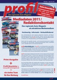 Download Mediadaten 3-2011 Print - Profil