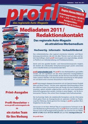Download Mediadaten 3-2011 Print - Profil