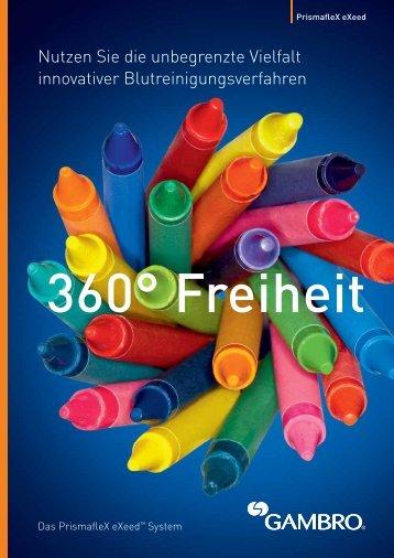 Prismaflex eXeed Broschüre - Gambro