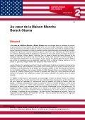 AU C?UR DE LA MAISON BLANCHE BARACK ... - Flach Film - Page 2