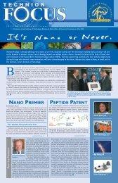 May 2005 - Technion Focus Magazine