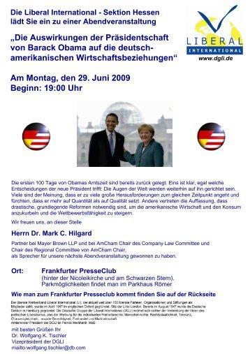 """""""Die Auswirkungen der Präsidentschaft von Barack Obama auf die ..."""