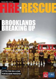 Fire and Rescue February 2012 – Issue 76 - New Zealand Fire Service