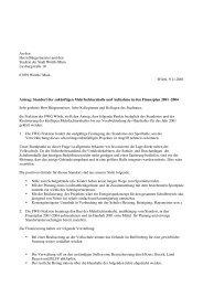 An den Herrn Bürgermeister und den Stadtrat der Stadt Wörth /Main ...