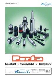 Porta-luettelo 2004 - Fixus