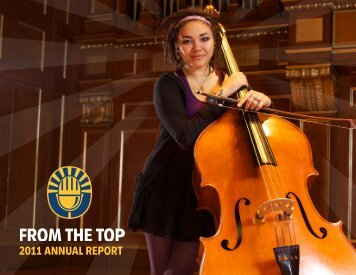 2011 ANNUAL REPORT - From the Top
