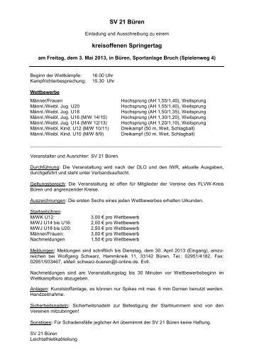 Fußball- und Leichtathletik - Verband Westfalen e.V. ... - Flvwdialog.de