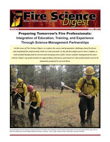 Fire Science Digest - Joint Fire Science Program